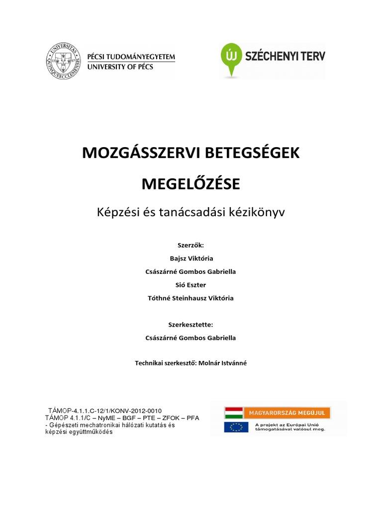 kézikönyv a térdízületek kezeléséről