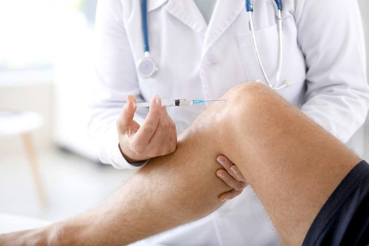 kézízületi injekciók kezelése