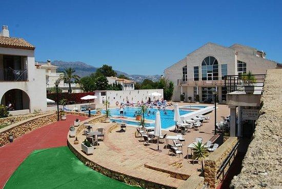 Terraza - Terrasse - Terrace - Hotel-Apartments Reuma-Sol, L'Alfas del Pi fényképe