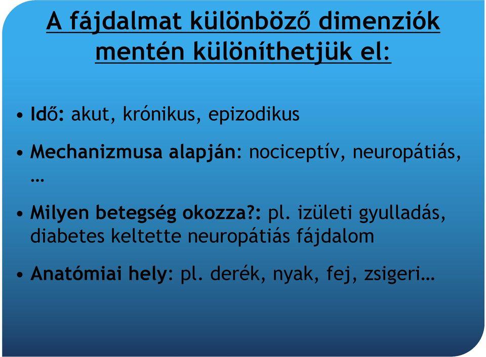 kfs és ízületi fájdalmak)