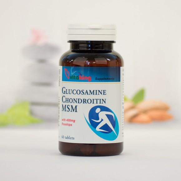 Vitaflex - glükozamin, kondroitin, MSM komplex 60 db - Vitalab-Natural
