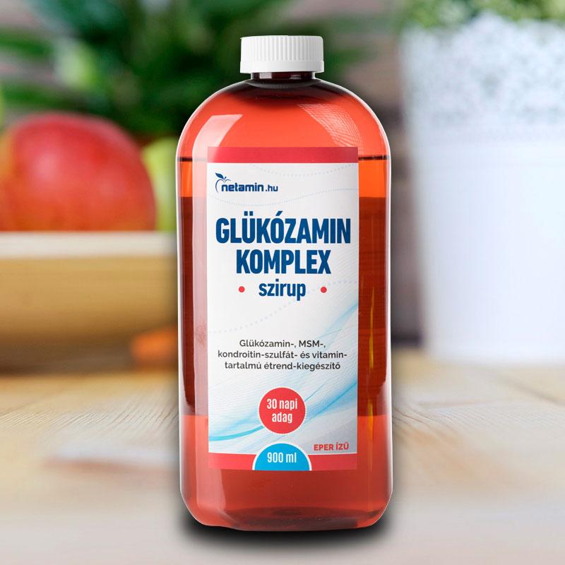 kondroitin és glükozamin komplex összetétele)