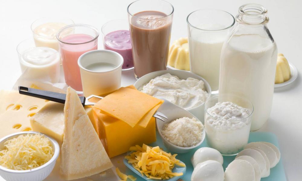 Helminták a tejben
