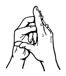 a mutatóujj ízülete valóban fáj kötési kötések