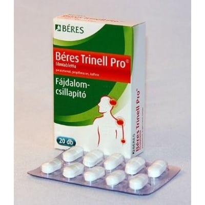 készítmények fájdalomcsillapításra osteochondrozban