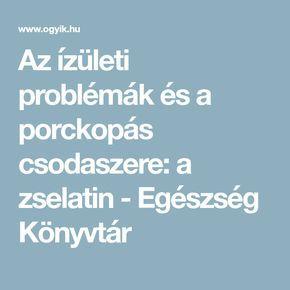 ízületi problémák a vegetáriánusokban)