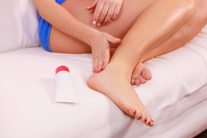 a láb és a boka ízületeinek gyulladása