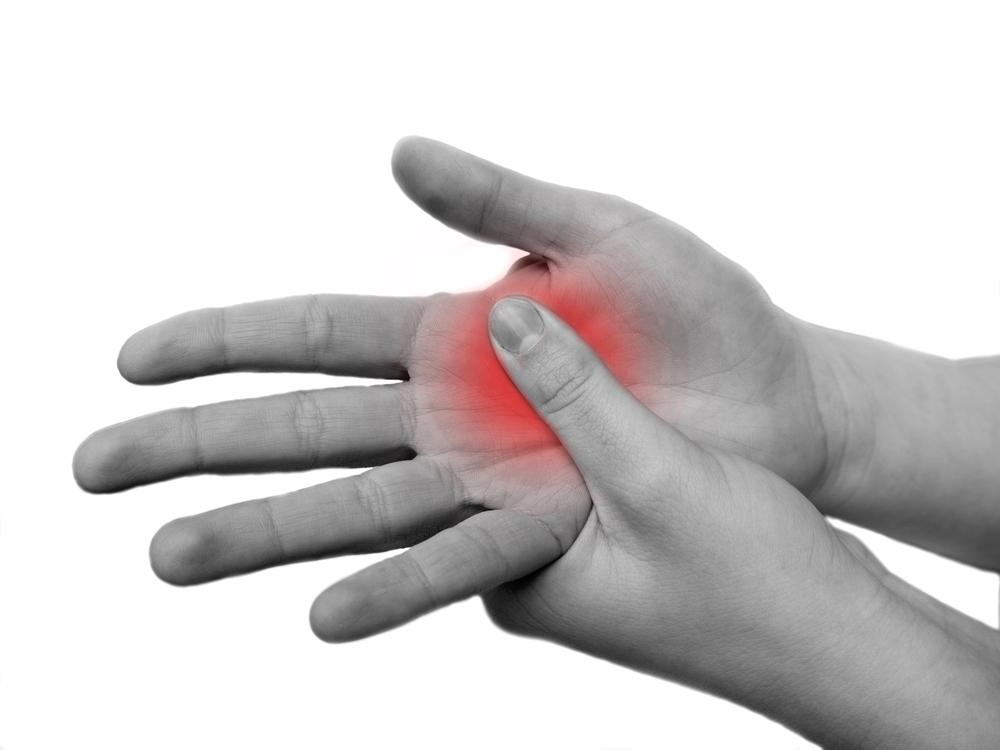 amikor az ujjízület fáj