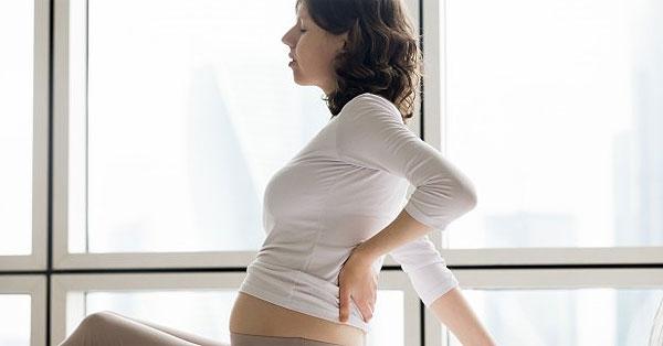 derékfájás korai terhességnél