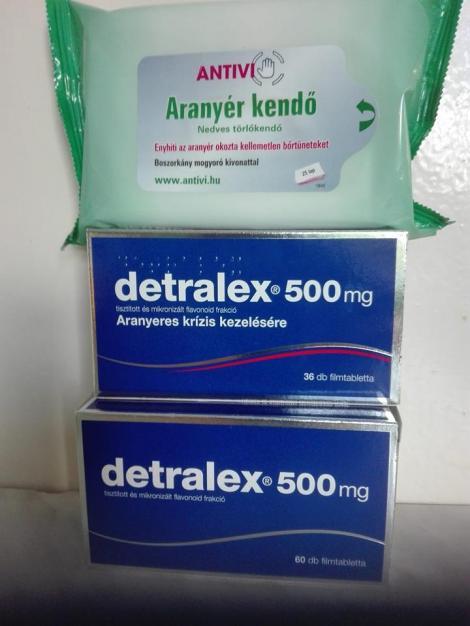 detralex ízületi kezelés)