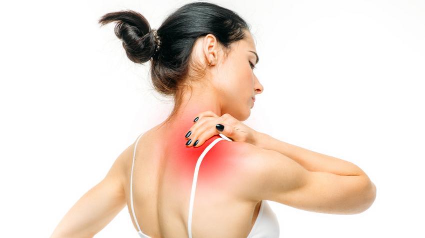 fájdalom a vállízületben a nyaktól