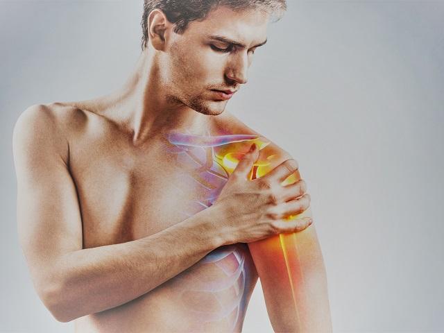 fájdalom és duzzanat a vállízület