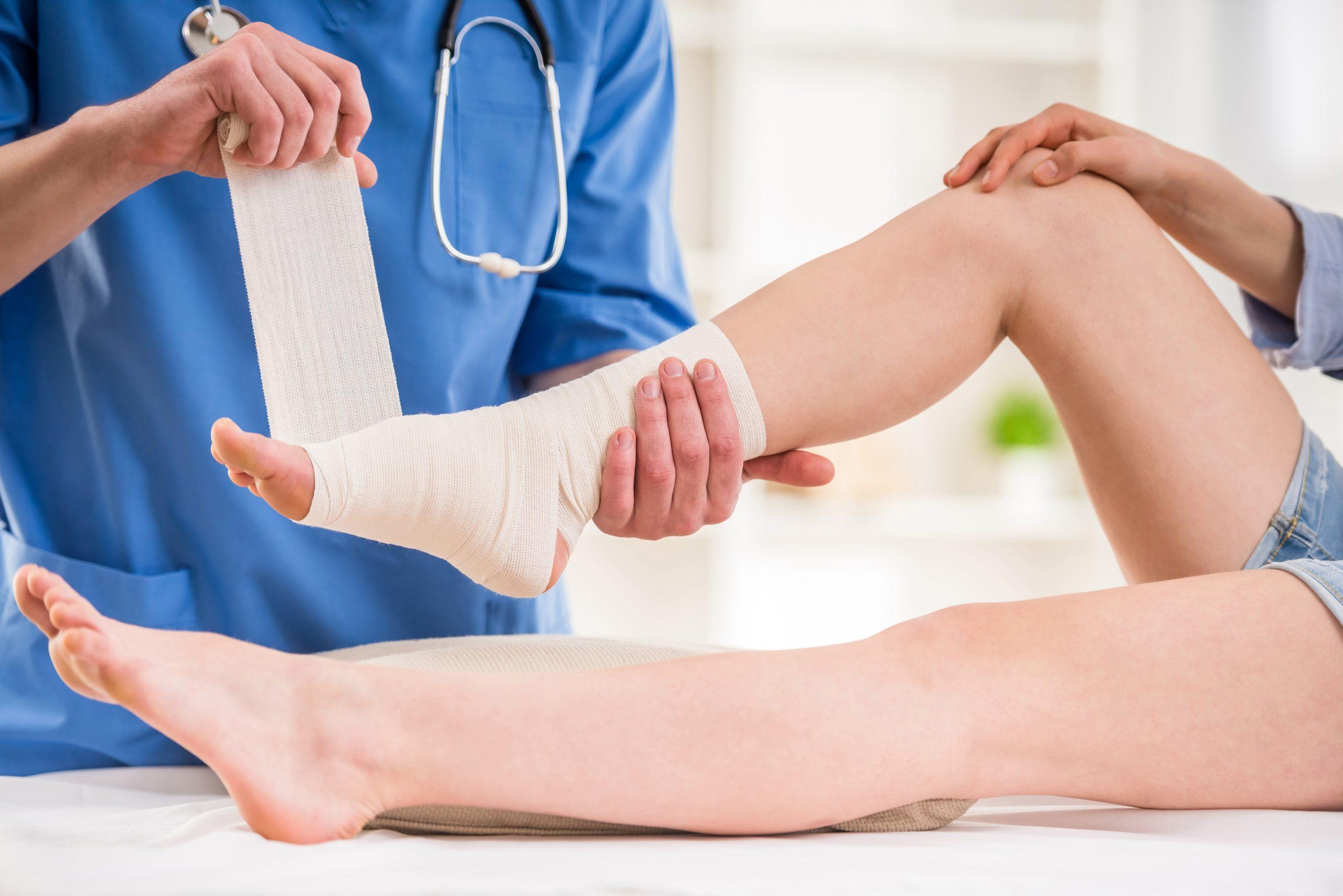 Bokaszalag szakadás kezelése a boka teljes felépüléséért