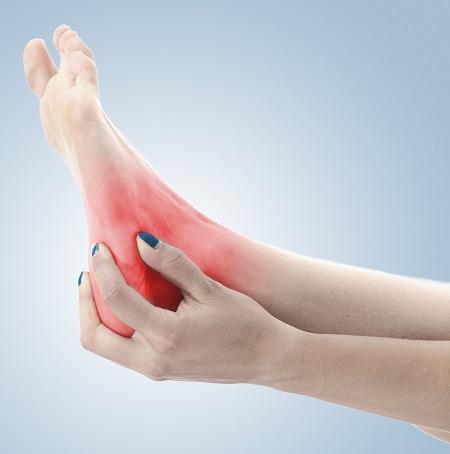 hogyan lehet gyorsan enyhíteni a boka fájdalmát