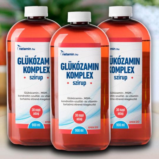 kondroitin és glükozamin csomagolás