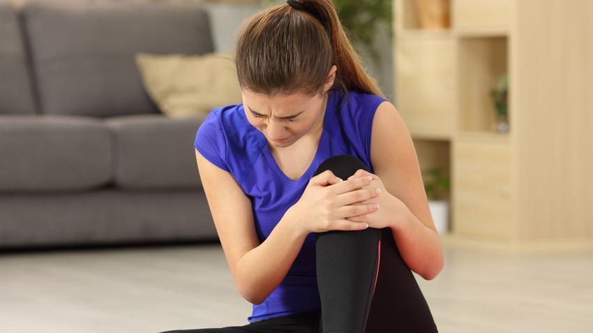 térdízületek és a hát fáj