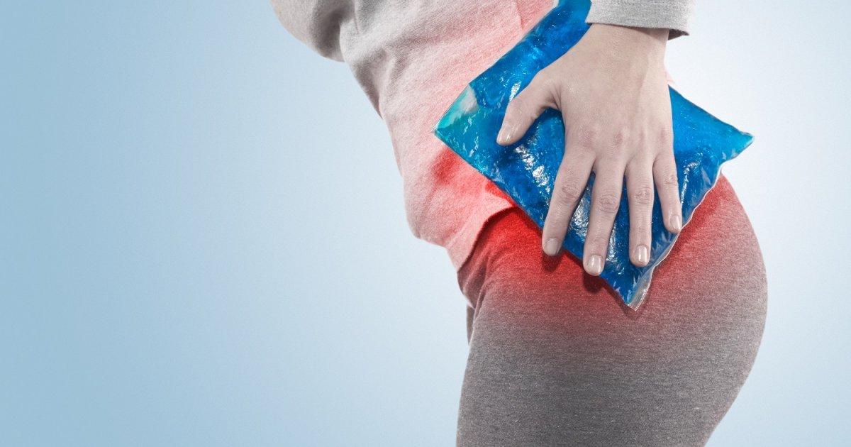 akut fájdalom a csípőben)
