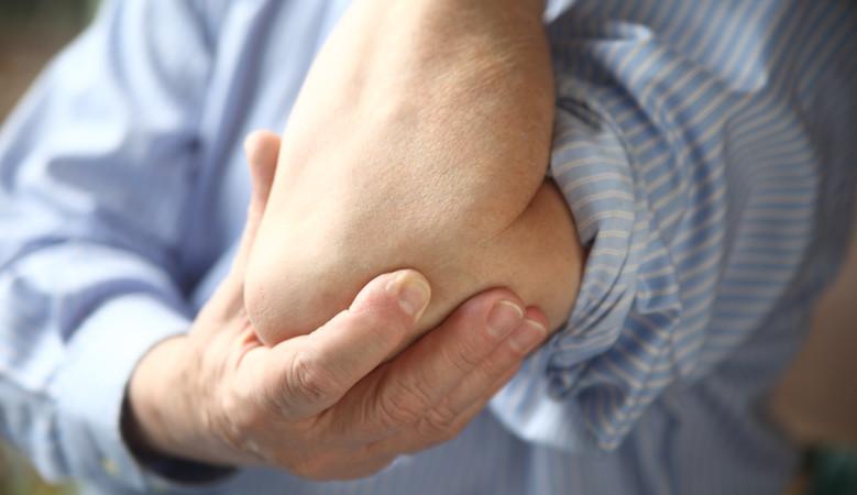 fájdalom a könyökízületben a terhelés miatt